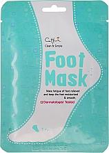 Perfumería y cosmética Mascarilla hidratante para pies - Cettua Moisturizing Foot Mask