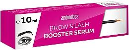 Perfumería y cosmética Sérum peptídico potenciador de cejas y pestañas - Andmetics Brow & Lash Booster Serum