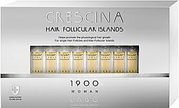 Perfumería y cosmética Tratamiento en ampollas estimulador del crecimiento de cabello para mujeres 1900 - Labo Crescina Hair Follicular Island 1900 Woman