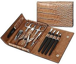 Perfumería y cosmética Kit de manicura, marrón claro - DuKaS, PL252