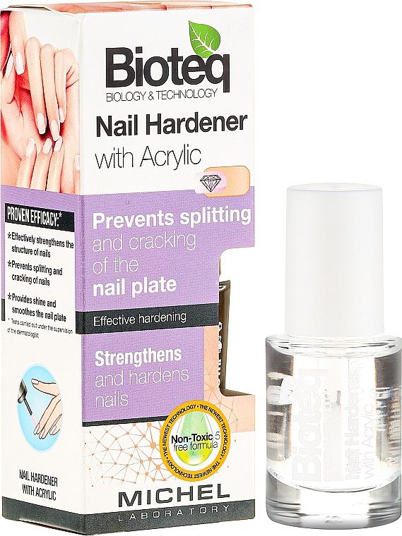 Endurecedor de uñas acrílico - Bioteq Nail Hardener With Acrylic