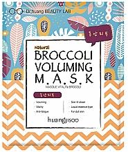 Perfumería y cosmética Mascarilla facial natural de algodón con vitamina C y betacaroteno - Huangjisoo Broccoli Voluming Mask