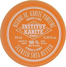 Perfumería y cosmética Manteca de Karité corporal con aroma a miel y almendras 98% - Institut Karite Almond Honey Scented Shea Butter