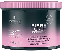 Perfumería y cosmética Crema reparadora para cabello sobreprocesado - Schwarzkopf Professional BC Fibre Force Bonding Cream