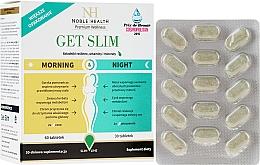Perfumería y cosmética Complemento alimenticio en cápsulas para apoyo a la pérdida de peso día y noche, 90cáp. - Noble Health Get Slim Morning & Night