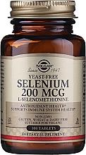 Perfumería y cosmética Complemento alimenticio en cápsulas de selenio - Solgar Selenium 200 mcg