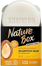 Perfumería y cosmética Champú sólido eco vegano con aceite de argán prensado en frío - Nature Box Nourishment Vegan Shampoo Bar With Cold Pressed Argan Oil
