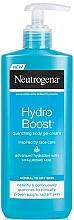 Perfumería y cosmética Gel crema corporal con ácido hialurónico para pieles normal & seca - Neutrogena Hydro Boost Quenching Body Gel Cream