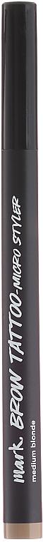 Lápiz de cejas efecto microblading - Avon Mark Brow Tattoo Micro Styler