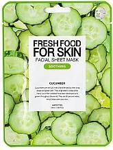 Perfumería y cosmética Mascarilla facial calmante con extracto de pepino - Superfood For Skin Facial Sheet Mask Cucumber Soothing
