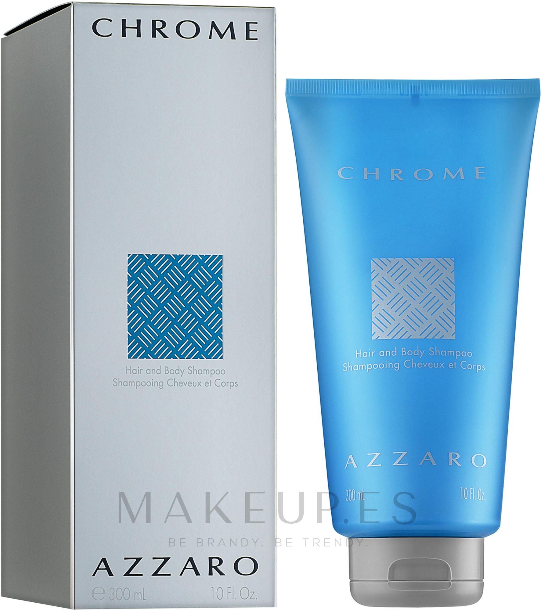 Azzaro Chrome - Gel de ducha perfumado — imagen 300 ml