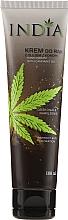 Perfumería y cosmética Crema de manos con aceite de cáñamo para pieles secas - India Hand Cream With Cannabis