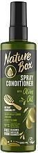 Perfumería y cosmética Spray acondicionador para cabello con aceite de oliva - Nature Box Olive Oil Spray Conditioner