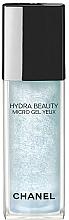 Perfumería y cosmética Gel contorno de ojos con microgotas de camelia - Chanel Hydra Beauty Micro Gel Yeux