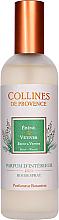 Perfumería y cosmética Ambientador en spray con aroma a ébano y vetiver - Collines de Provence Ebenholz & Vetiver