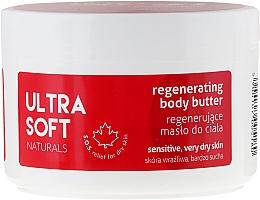Perfumería y cosmética Manteca corporal regeneradora con extracto de frambuesa, pieles secas y sensibles - Tolpa Ultra Soft Naturals Regenerating Body Butter