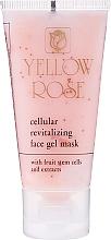 Perfumería y cosmética Gel mascarilla facial con células madre frutales y extracto de melón - Yellow Rose Cellular Revitalizing Gel Mask