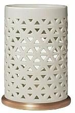 Perfumería y cosmética Lámpara aromática de cerámica - Yankee Candle Belmont Punched Ceramic Wax Melt Burner