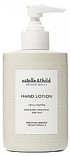 Perfumería y cosmética Loción de manos con manteca de karité, aceite de almendras y aloe vera - Estelle & Thild Citrus Menthe Hand Lotion