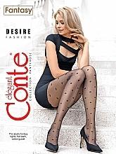 Perfumería y cosmética Pantis Fantasy Desire, 20 Den, negro - Conte