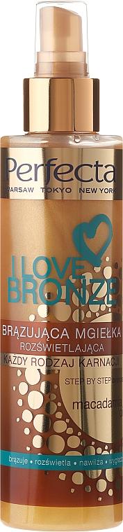 Spray bronceador con aceite de macadamia - Perfecta I Love Bronze Spray Mist