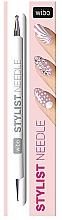 Perfumería y cosmética Punzón bilateral para decoración de uñas - Wibo Stylist Needle