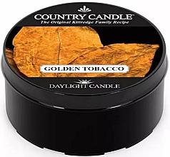 Perfumería y cosmética Vela perfumada con aroma a tabaco & incienso dulce - Country Candle Golden Tobacco