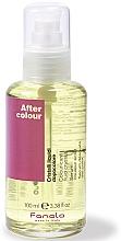 Perfumería y cosmética Sérum protector antipuntas abiertas con aceite de lino - Fanola Colour-Care Fluid Crystal