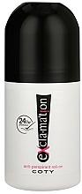 Perfumería y cosmética Coty Ex`cla-ma`tion - Desodorante antitranspirante roll-on