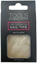 Perfumería y cosmética Uñas postizas con pegamento - Gabriella Salvete Tools Nail Tips 48
