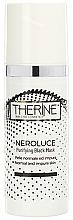 Perfumería y cosmética Mascarilla facial purificante con arcilla verde y carbón - Therine Neroluce Purifying Black Mask