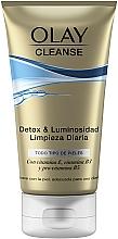 Perfumería y cosmética Gel exfoliante limpiador - Olay Cleanse Detox & Luminosity Facial Cleansing Gel