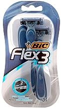 Perfumería y cosmética Maquinillas de afeitar desechables, 3uds. - Bic Flex 3 Comfort