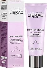 Perfumería y cosmética Gel-crema reafirmante para cuello y escote con extracto de tulipán - Lierac Lift Integral Neck & Decollete Sculpting Lift Cream-Gel