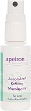 Perfumería y cosmética Spray bucal con aceite de menta - Apeiron Auromere Herbal Mouth Spray