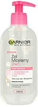 Perfumería y cosmética Gel micelar con extracto de uva para pieles sensibles - Garnier Skin Naturals Cleansing Micellar Gel