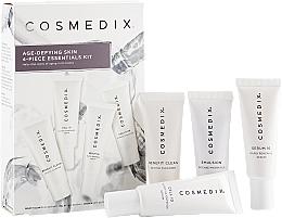 Perfumería y cosmética Set facial (sérum/15ml+ sérum/15ml+ emulsión/15ml+ limpiador/15ml) - Cosmedix Age Defying Skin 4-Piece Essentials Kit