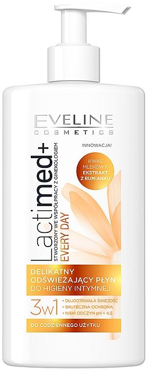 Gel de higiene íntima con extracto de arándano rojo - Eveline Cosmetics Lactimed+