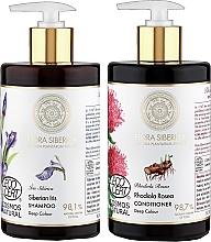 Perfumería y cosmética Set (champú/480ml + acondicionador/480ml) - Natura Siberica