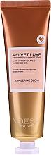 Perfumería y cosmética Crema para manos y cuerpo con aceite de oliva virgen y aguacate - Voesh Velvet Luxe Tangerine Glow Vegan Body&Hand Creme