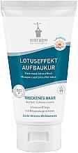 Perfumería y cosmética Mascarilla para cabello seco con extracto de flor de loto y aceite de moringa - Bioturm Lotus Effect Structure Treatment Nr.19