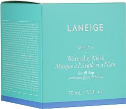 Perfumería y cosmética Mascarilla mineral de arcilla con agua de menta - Laneige Mini Pore Waterclay Mask