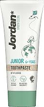 Perfumería y cosmética Pasta dental infantil con fluoruro - Jordan Green Clean Junior