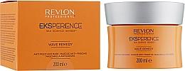 Perfumería y cosmética Mascarilla antiencrespamiento para cabello rizado con queratina y agua marina - Revlon Professional Eksperience Wave Remedy Hair Mask