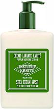 Perfumería y cosmética Crema de ducha con manteca de karité y aroma a verbena de limón - Institut Karite Lemon Verbena Shea Cream Wash