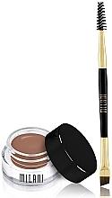 Perfumería y cosmética Corrector para cejas con cepillo - Milani Stay Put Brow Color