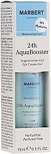 Perfumería y cosmética Crema gel hidratante para contorno de ojos con glicerina - Marbert 24h AquaBooster Augencreme-Gel