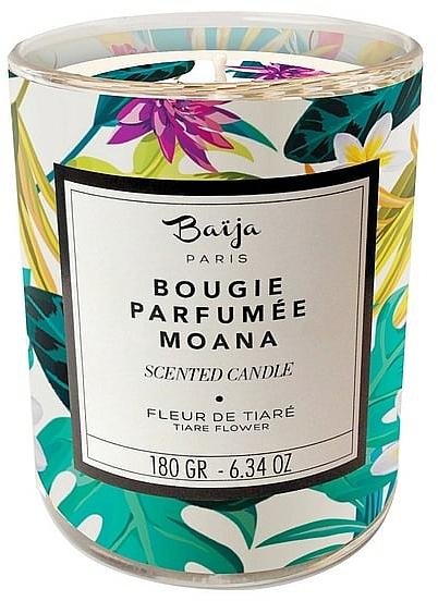 Vela aromática, flor de tiaré - Baija Moana Scented Candle