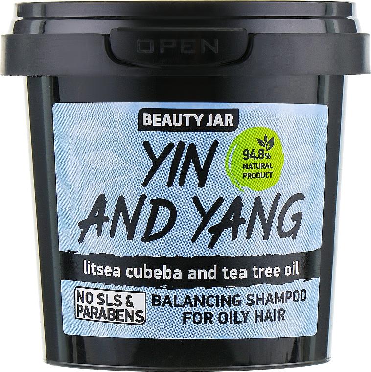 Champú con litsea cubeba & aceite de árbol de té - Beauty Jar Shampoo For Oily Hair