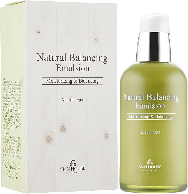 Emulsión facial equilibrante natural con extractos de malva y tomillo - The Skin House Natural Balancing Emulsion